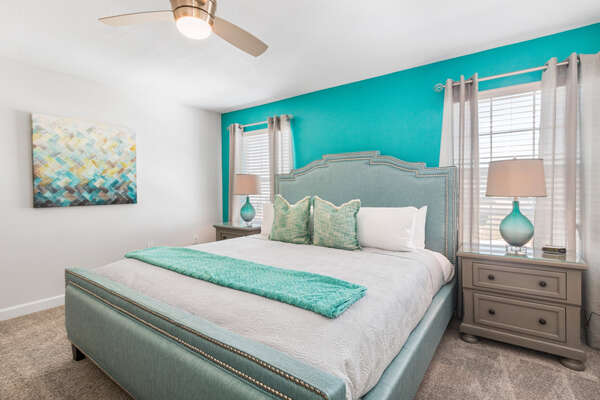 Master Suite 2 is located on the second floor