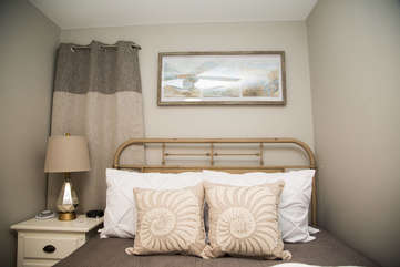 Slip into the high end linens at the end of an amazing day and enjoy a wonderful night's rest.