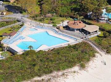 Largest Oceanfront Pool on Hilton Head Island