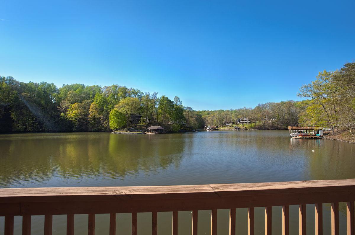 Incredible Views of the lake.