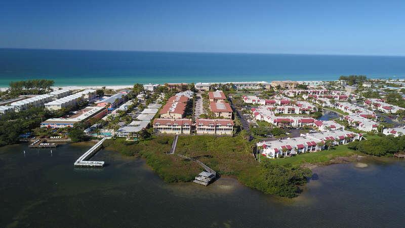 Aerial Bradenton Beach Club
