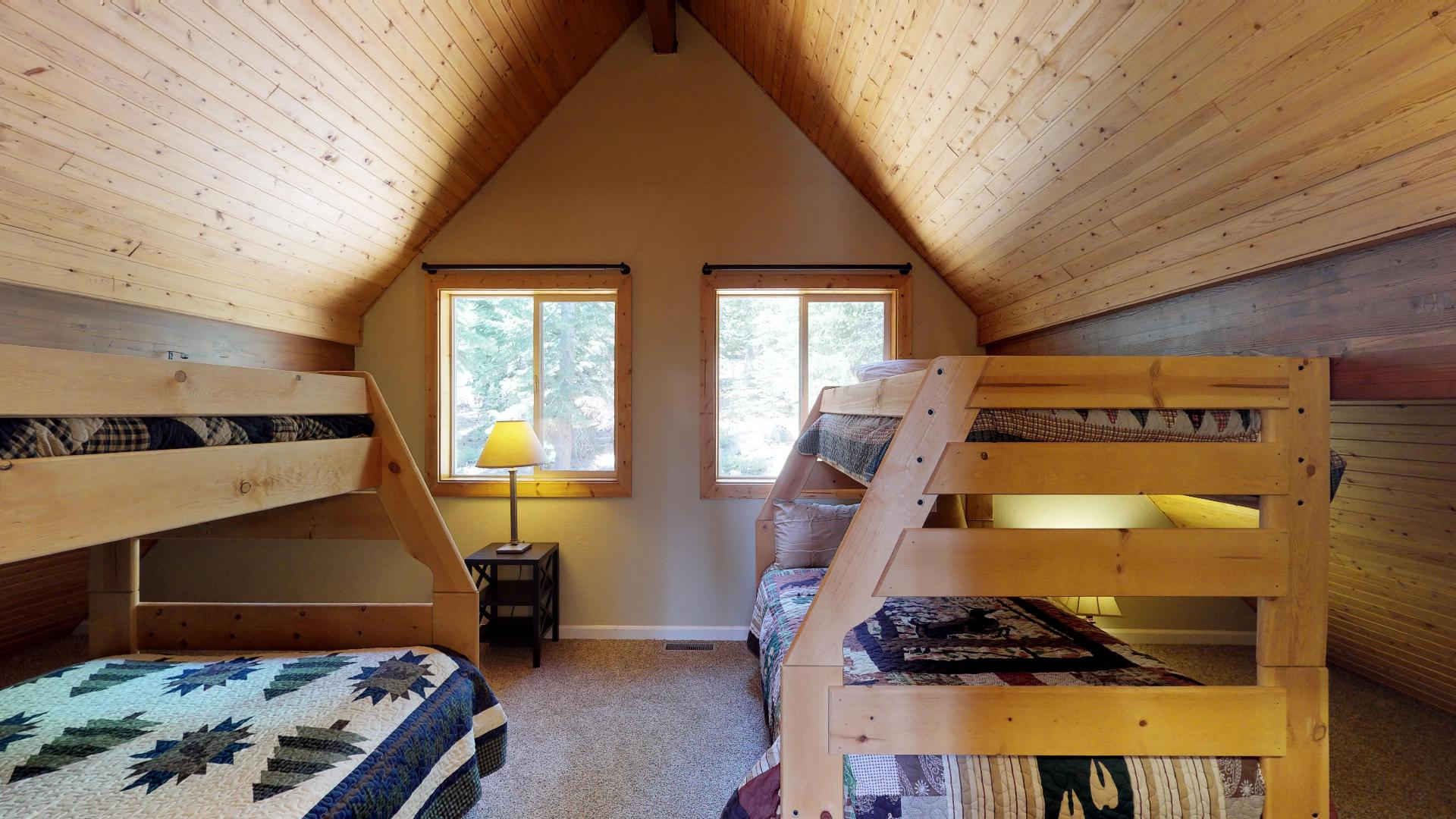 Loft Bedroom with Twin Over Full Bunk Beds