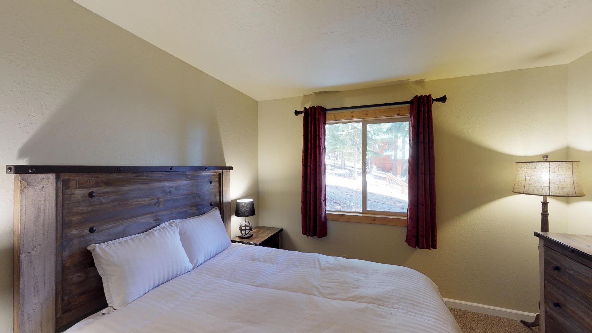 Look Out the Window in our Truckee Cabin Rental