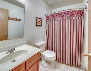 One of the Bathrooms in our Coyote Vacation Rental