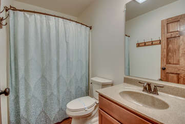 One of the Bathrooms in our Poconos Vacation Home Rental