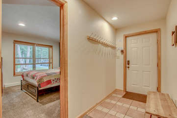 Entry way by Bedroom