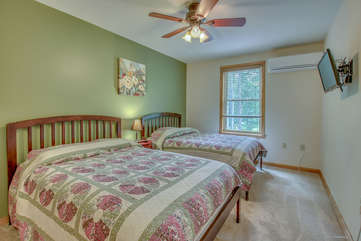 3rd Floor Bedroom with two Double Beds