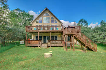 Front Picture of our Towamensing Trails Vacation Rental.