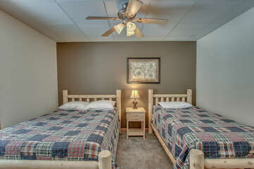 First Floor Bedroom with Twin and Double Bed