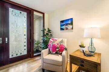 Entry of our Waikoloa Hawaii Vacation Rental