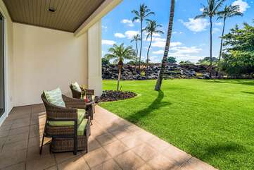 View of the Beautiful Tropical Landscaped Yard