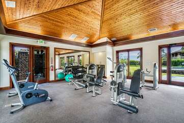 Common Area Exercise Room
