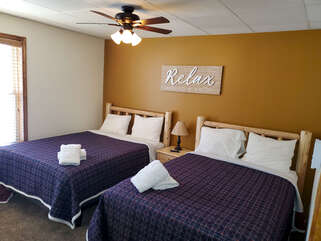 Picture of two beds in the rental