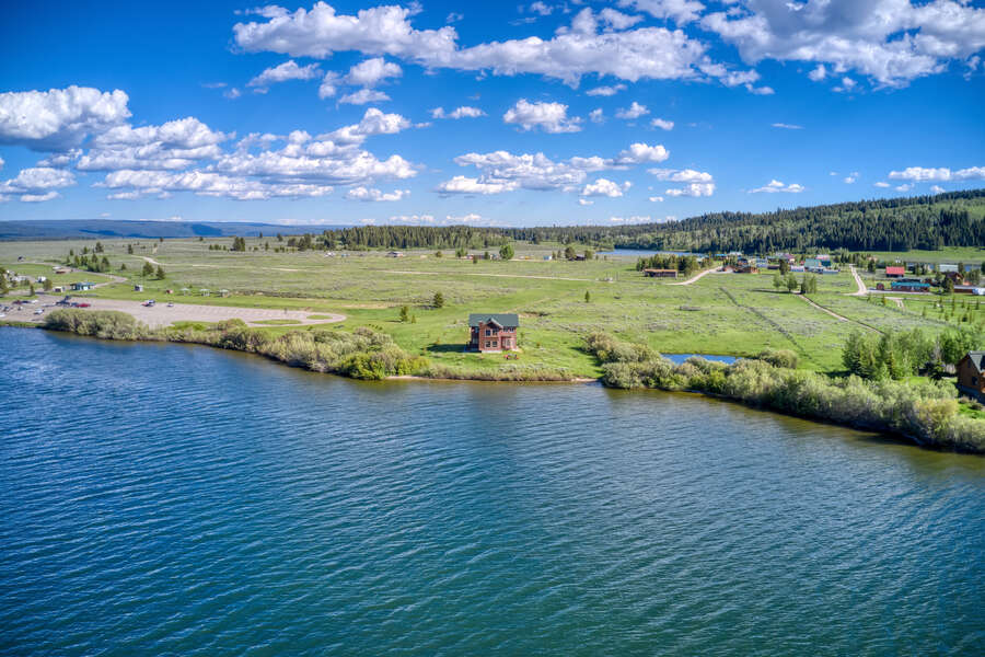 Henrys Lake Goose Bay ~