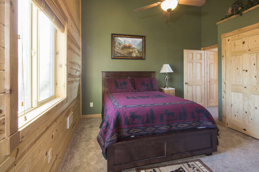 Duck Duck Goose ~ bedroom #3 on upper level w/ queen bed