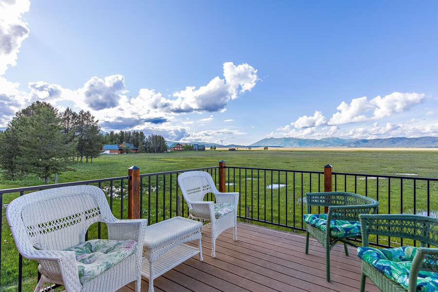 Grand View Retreat ~ new balcony railing!