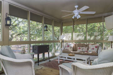 Wonderful extended outdoor living space