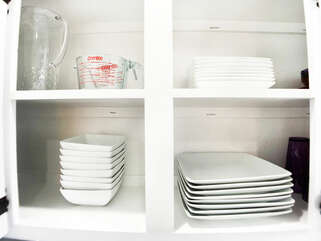 Enough dinnerware for your entire party!