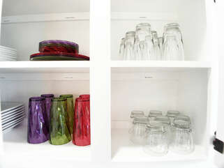 Plastic drink-ware and plate-ware specifically in mind for the kids as well as the pool area!!