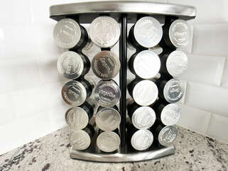 Spice rack for all sorts of yummy food - release you're inner chef.