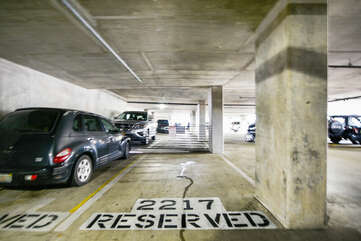 Reserved parking on the 2nd floor!!