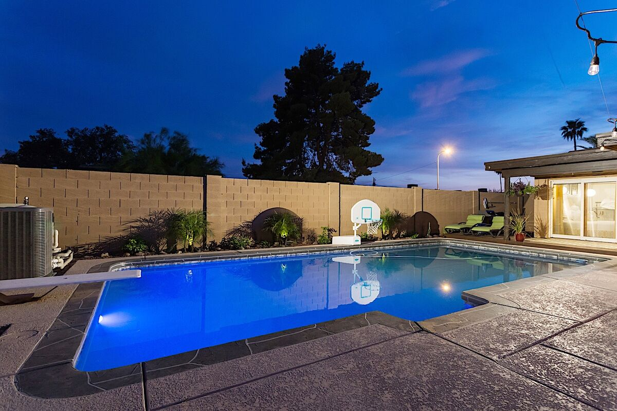 Diving Board and Pool Basketball