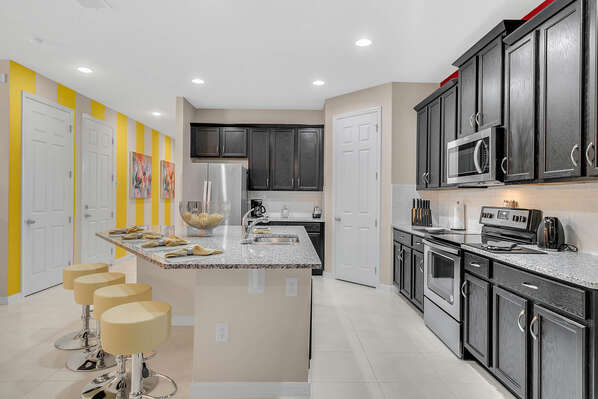 Spacious and beautiful Kitchen