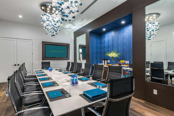 Handle business in the boardroom with state-of-the-art technology and Business Grade Wi-Fi