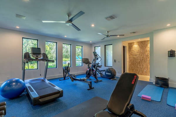 Join a spin class on the commercial-grade Peloton bike