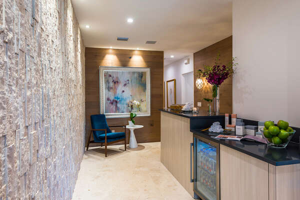 An on-site spa and wellness center featuring ESPA specialty products