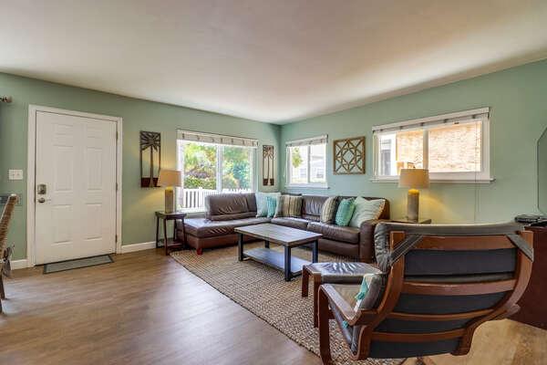 Bright, open floor plan