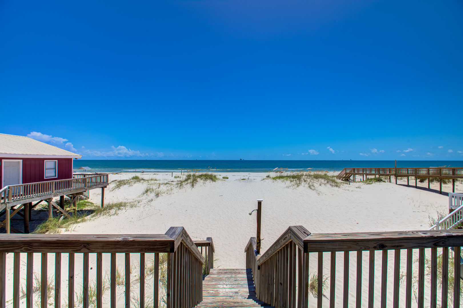 Enjoy Being Located Only a Few Minutes From the Beach.