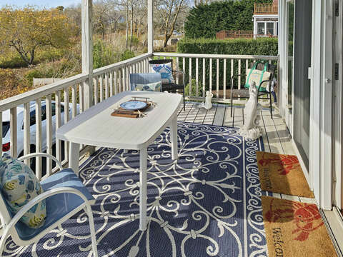 Lower deck -325 Main Street Chatham Cape Cod - New England Vacation Rentals