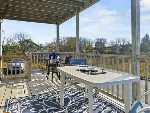 Deck with a view-325 Main Street Chatham Cape Cod - New England Vacation Rentals