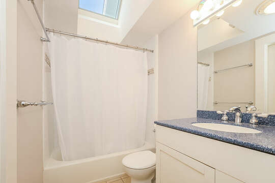 Bathroom #2 Jack and Jill for both upstairs bedrooms- 325 Main Street Chatham Cape Cod - New England Vacation Rentals