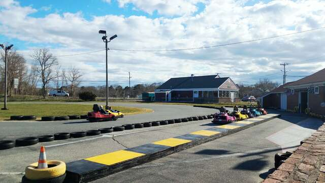 Hit the race track with the kids and have some summer fun at the Go Karts! - Harwich Cape Cod - New England Vacation Rentals
