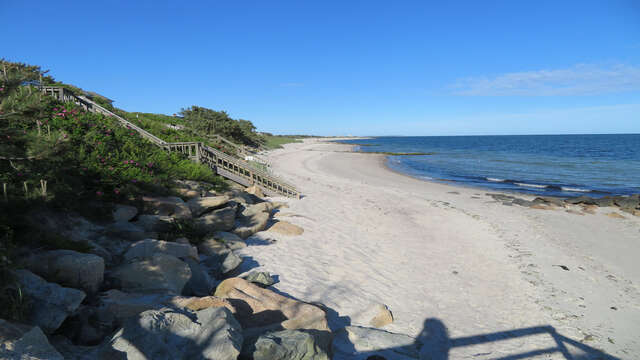 Warmer water, gentle waves, and beautiful sandy Grey Neck Beach! - West Harwich Cape Cod - New England Vacation Rentals