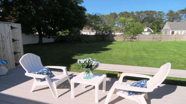 Sit back and relax in the summer sunshine! - 25 Grey Neck Road West Harwich Cape Cod - New England Vacation Rentals