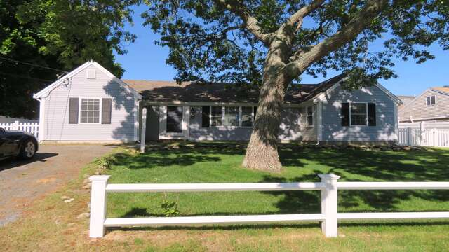 Exterior. Front of home - 25 Grey Neck Road West Harwich Cape Cod - New England Vacation Rentals