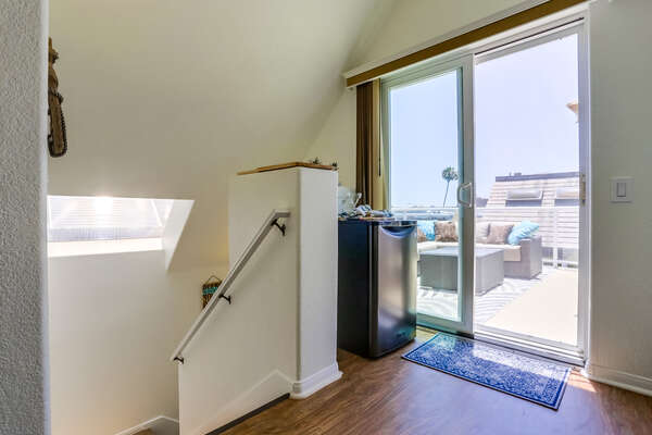 Third Floor Patio access