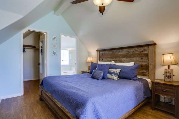 Third Bedroom Master with King Bed