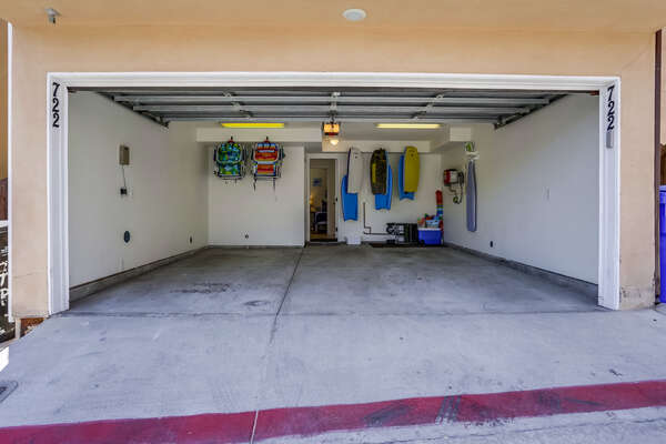 Garage with access from the alley