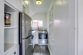 Newly updated kitchen.