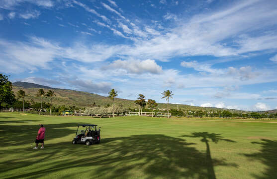 Golf course near the Ko Olina resort