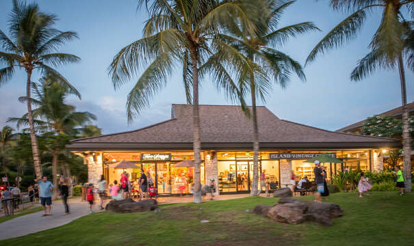 Gift shops near resort
