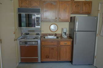 The In-Law Suite's Convenient Kitchenette