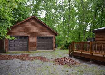 Double Garage for Guests Use