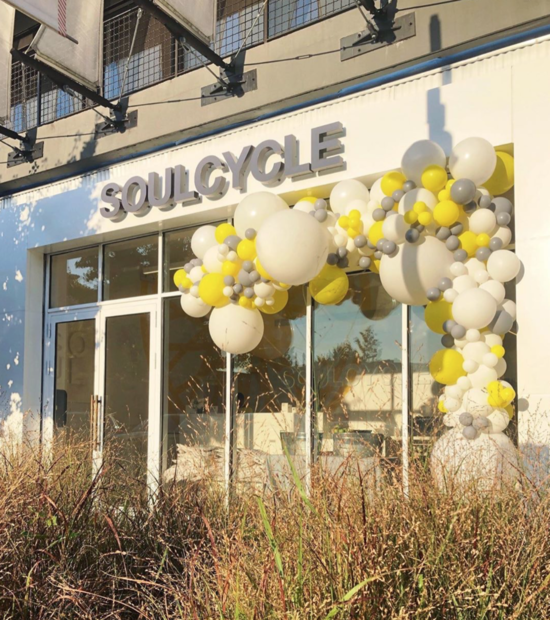 Front Picture of the SoulCycle Establishment.