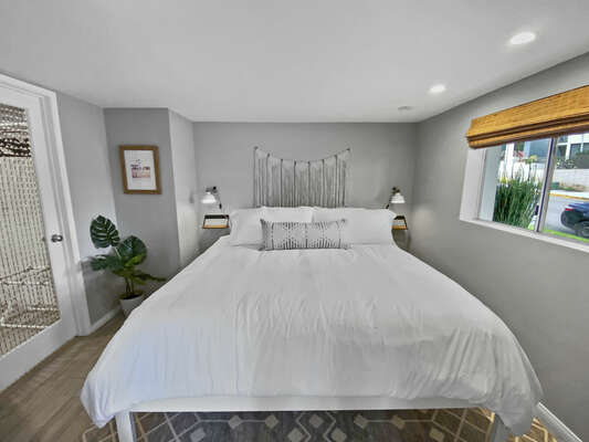 Master Suite with King Bed and Walk-In Closet