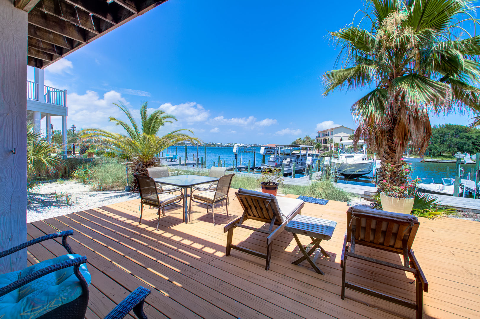 Relax Outside at the Vacation Rental in Pensacola Florida.